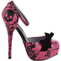 Lacey Days Platform - Hot Pink, Iron Fist, $59.99, FREE 2nd Day Shipping!