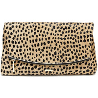 Garland Clutch, Cheetah - Hayden-Harnett Handbags & Accessories Online Store