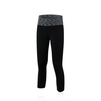 Women's Yoga Capri Slimming Fitness Hidden Pocket Cropped Pants 7th Leggings