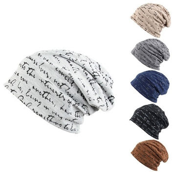 Men's Women's Unisex Hip-Hop Warm Winter Cotton Polyester Knit Ski Beanie Skull Cap Hat = 1929877508