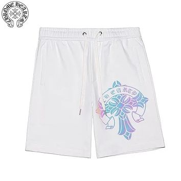 Chrome Hearts 2019 new gradient reflective printing men and women shorts