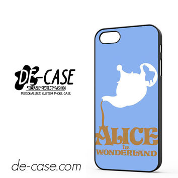 Alice In Wonderland Tea Cup DEAL-533 Apple Phonecase Cover For Iphone 5 / Iphone 5S