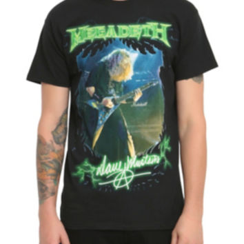 Megadeth Dave Mustaine T-Shirt