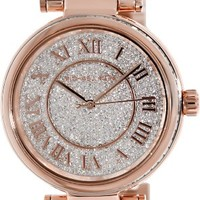 Michael Kors Crystal Pave Dial Rose gold-tone Ladies Watch MK5868