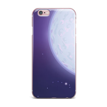"Fotios Pavlopoulos ""Full Moon"" Night Sky iPhone Case"