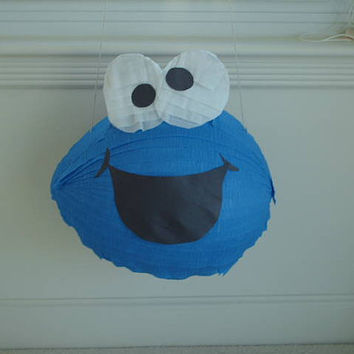 Cookie Monster Party Pinata by PinataParadise on Etsy