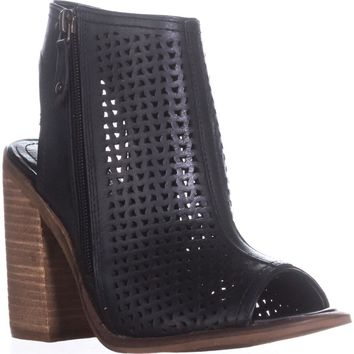 Kelsi Dagger Brooklyn Mason Ankle Booties, Black, 6 US / 36.5 EU