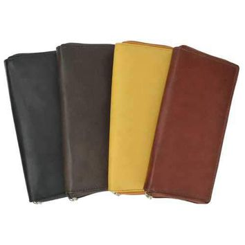 Slim Women Leather Wallet