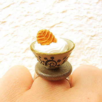 Japanese Food Ring Ice Cream Cookie by SouZouCreations on Etsy