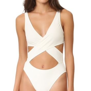 The Poppy Wrap One Piece