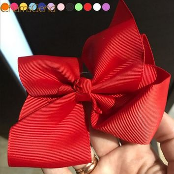 Newly Design Fashion Big Bow Hairpins Hair Clips For Children Kids Girls Hair Accessories Drop Shipping