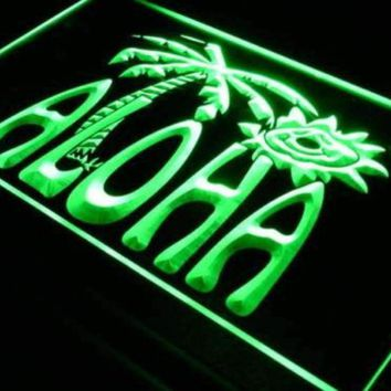 Aloha Beach Decor Neon Sign (LED)