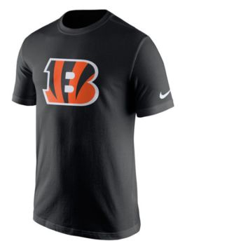 Youth Cincinnati Bengals Essential Logo Tee By Nike