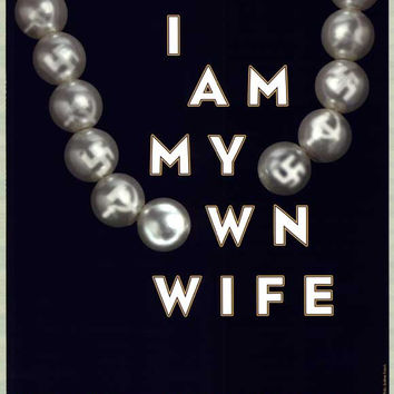 I Am My Own Wife 11x17 Broadway Show Poster (2003)