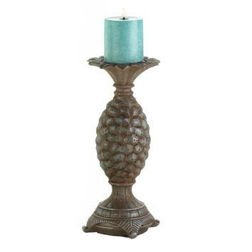 Coastal Living-Pineapple Candle Holder