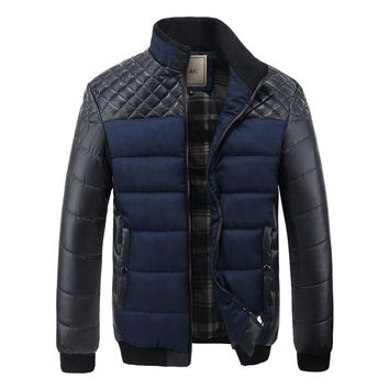 The Montreal Puffer Coat Navy