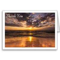Sunrise Over Surfers Paradise Greeting Card