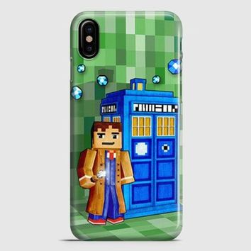 Tardis Doctor Who Little Prince iPhone X Case | casescraft