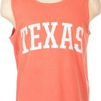 Comfort Colors Collection - Texas Arch Tank Top | University Co-op Online