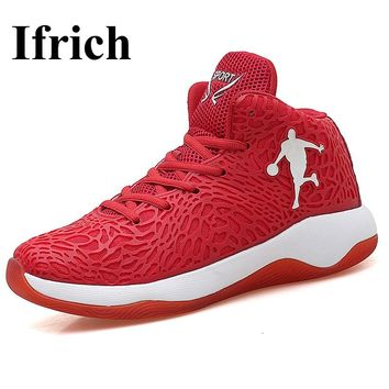 Ifrich Basketball Shoes Men 2017 Basketball Shoes New Arrival Mens Sports Shoes Basketball Non-Slip Mens Sneakers For Sport