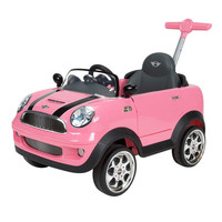 Avigo MINI Cooper Foot to Floor Ride-On - Pink