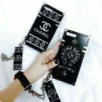 CHANEL/Chrome Hearts iPhone Phone Cover Case For iphone 6 6s 6plus 6s-plus 7 7plus H-AGG-CZDL One-nice™