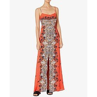 Free People - Morning Song Maxi Dress - Cherry Combo