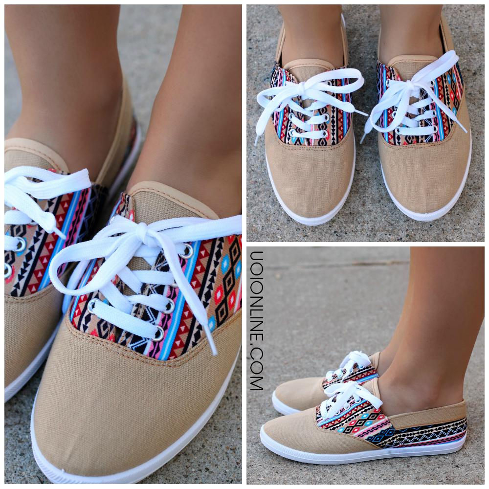 237afb3fa0f6 Take A Stroll Sneaker - Camel from UOI Boutique