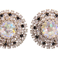 One Kings Lane - Style Guide - Hobe Rhinestone Earrings