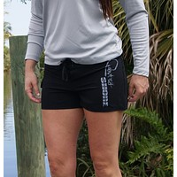 Women's Signature Series Black Board Shorts