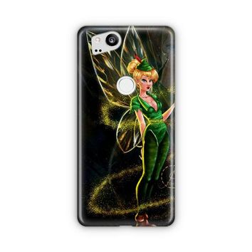 Tinkerbell Stained Glass Google Pixel 3 Case | Casefantasy