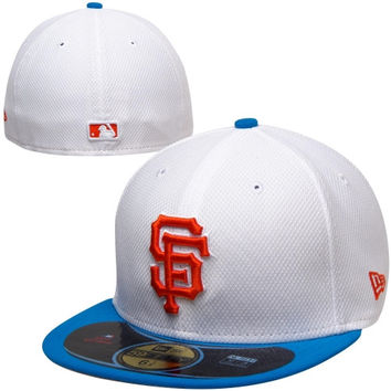 New Era San Francisco Giants Diamond Era Pop 59FIFTY Fitted Hat - White/Royal Blue