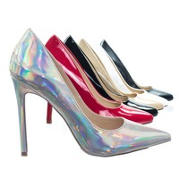 Angie8 Classic Pointed Toe High Heel Stiletto Dress Pump