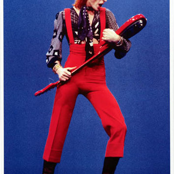 David Bowie Holland 1974 Poster 24x33