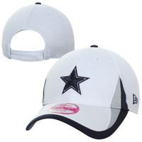 New Era Dallas Cowboys Ladies 9FORTY 2013 Training Camp Adjustable Hat - White