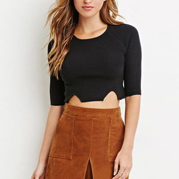 Corduroy Pleated Skirt