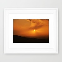 Dartmoor sunset Framed Art Print by  Alexia Miles Photography