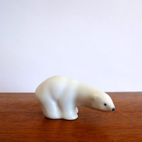 Vintage Arabia Finland Polar Bear by Richard Lindh