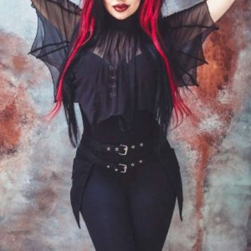 Necessary Evil | Medeina Bat Wing Cape