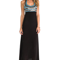 Karina Grimaldi Algeria Beaded Maxi in Black from REVOLVEclothing.com