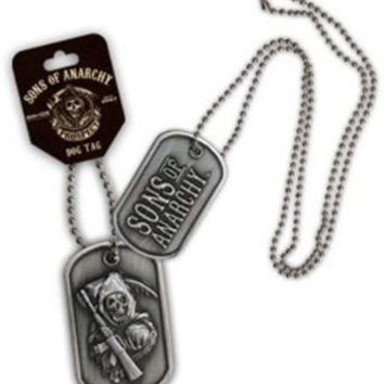 Sons of Anarchy Reaper Double Sided Dog Tag  - Sons of Anarchy - | TV Store Online