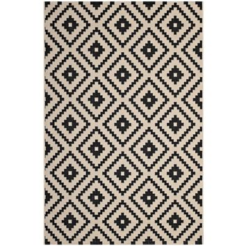Perplex Geometric Diamond Trellis 5x8 Indoor and Outdoor Area Rug