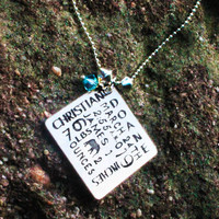 Personalized Mom Necklace - Birth Announcement Necklace - Personalized Baby Info Necklace