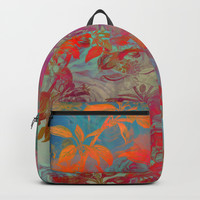 flower 26 #flowers #roses Backpacks by jbjart
