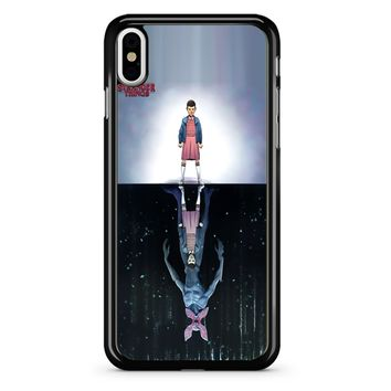 Stranger Things Eleven 2 1 iPhone X Case