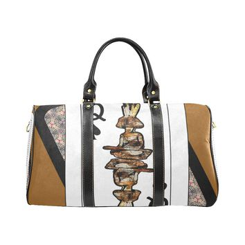 Play Your Hand...Queen Spade No. 4 Small Duffel Bag