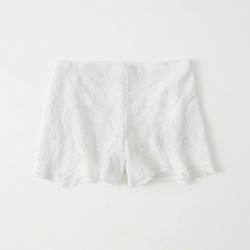 Womens Lace Shorts | Womens Bottoms | Abercrombie.com