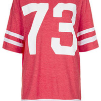 73 Number Tee - Jersey Tops  - Clothing
