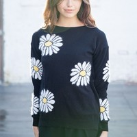 ALICIA DAISIES KNIT