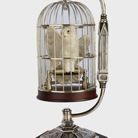 Hedwig in Cage Sculpture